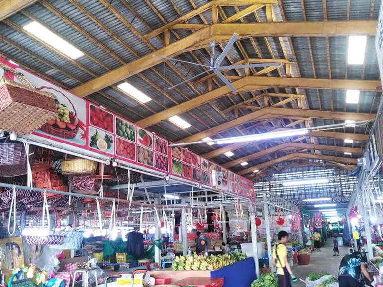 ตลาดกลางผักและผลไม้ นนทบุรี